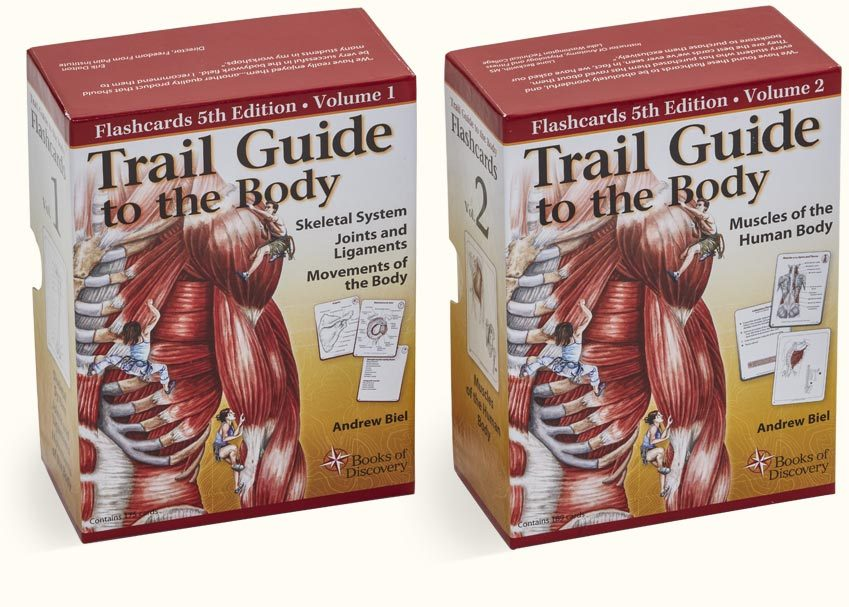Trail Guide To The Body Flashcards Complete Set 5th Edition