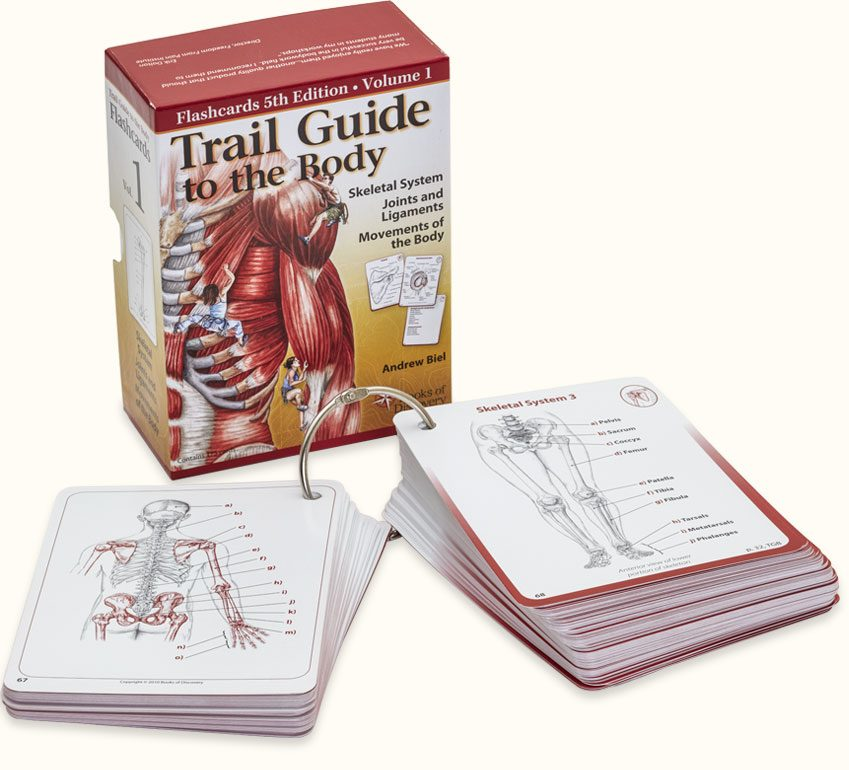Trail Guide To The Body Flashcards Volume 1 5th Edition Books Of