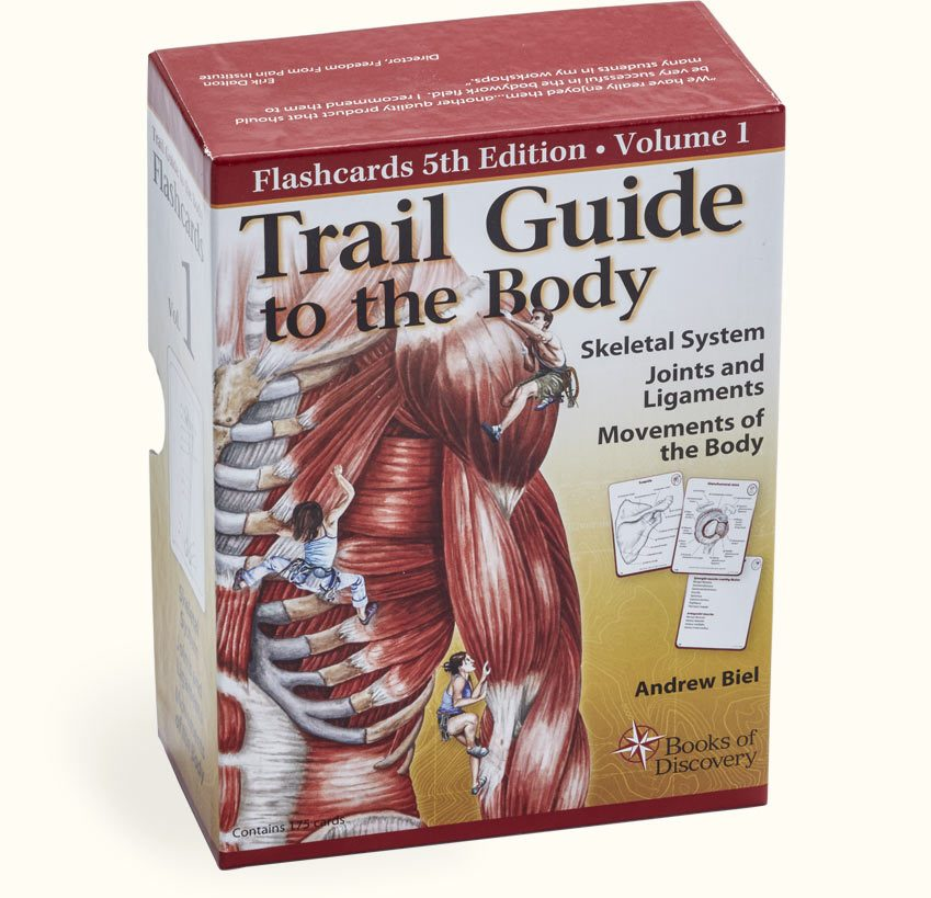 Trail Guide to the Body Flashcards, Volume 1, 5th Edition - Books of ...