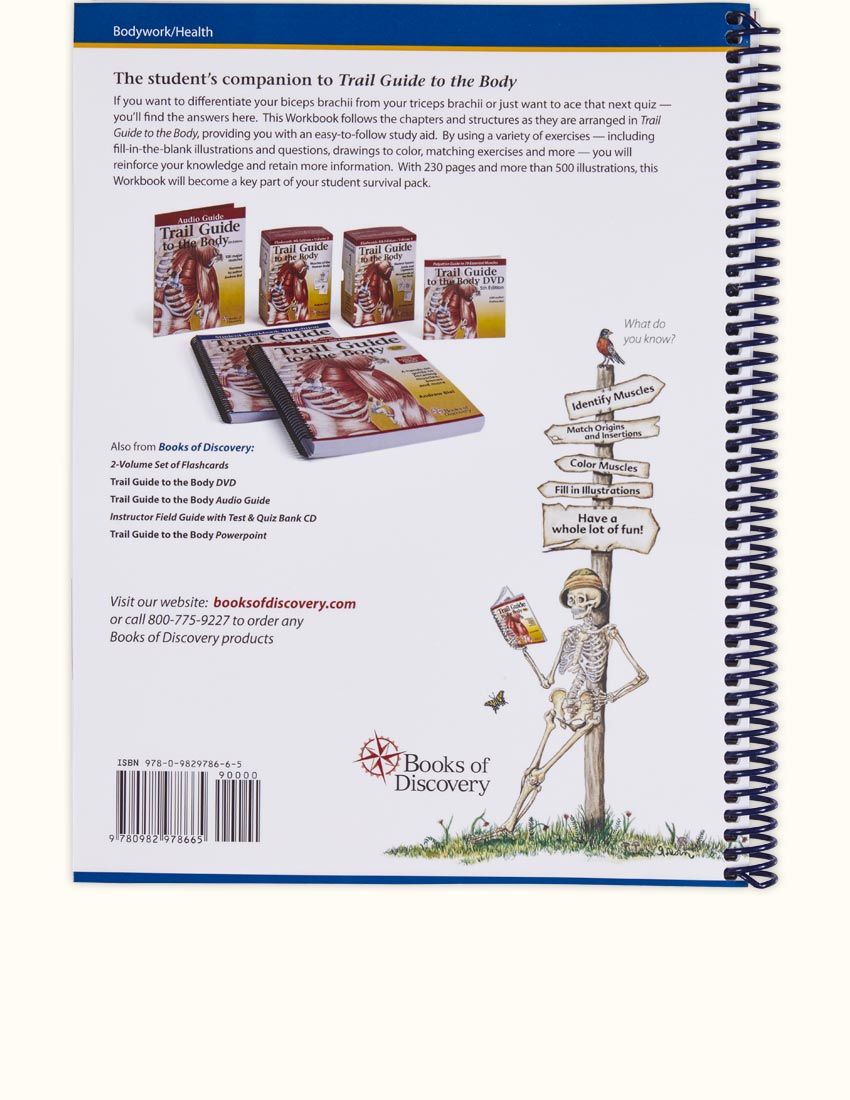 Trail guide to the body student workbook 5th edition books of trail guide to the body student workbook fandeluxe Choice Image