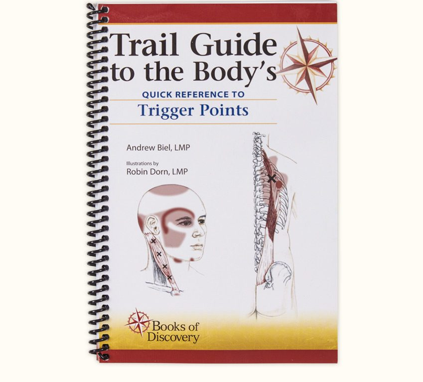Trail guide to the bodys quick reference to trigger points books trail guide to the bodys quick reference to trigger points fandeluxe Image collections