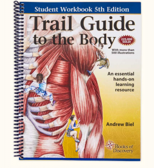 Trail guide to the body 5th edition books of discovery trail guide to the body student workbook 5th edition fandeluxe Image collections