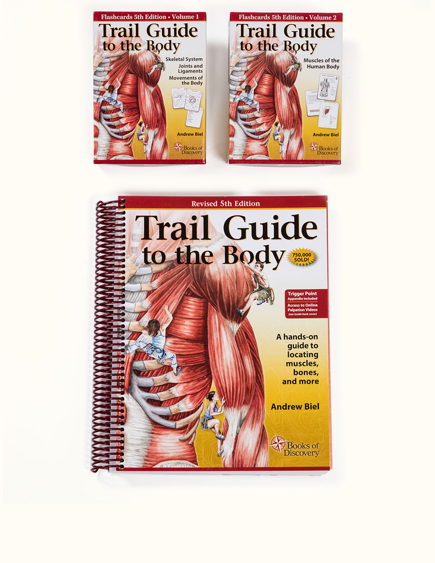 Trail Guide To The Body Textbook Flashcard Set Books Of Discovery
